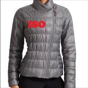 ISO Athleta Downalicious Jacket, Size M